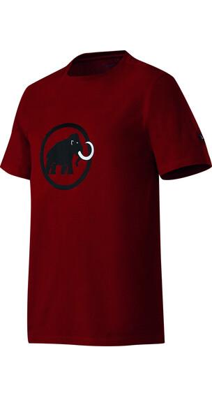 Mammut Logo t-shirt Heren bruin